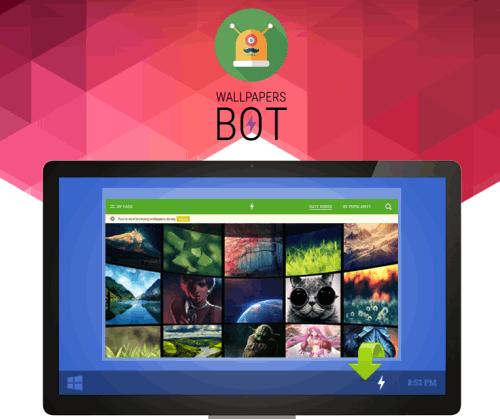 Wallpapers Bot- free wallpaper downloader software