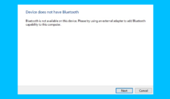 bluetooth disappeared after windows 10 update