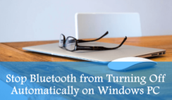 Stop Bluetooth from Turning Off Automatically